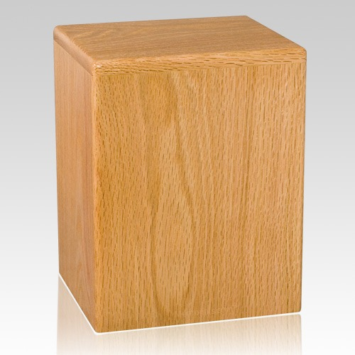 Houston Wood Cremation Urn