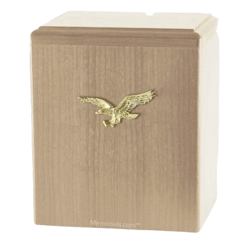 Eagle Ascent Maple Small Cremation Urn