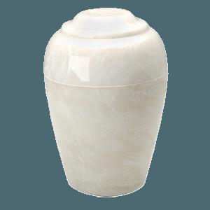 Grecian Pearl Onyx Cremation Urn II