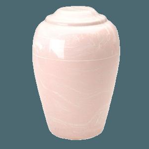 Grecian Pink Marble Cremation Urn II