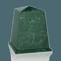 Obelisk Green Marble Urn