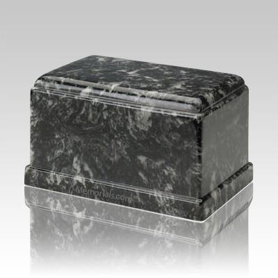 Olympus Ebony Marble Cremation Urn