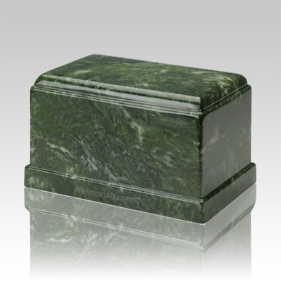 Olympus Emerald Marble Cremation Urn
