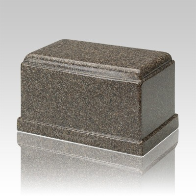 Olympus Kodiak Brown Granite Cremation Urn