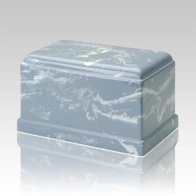 Olympus Wedgewood Marble Cremation Urn