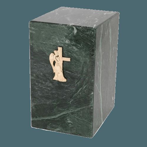 Nostalgia Green Marble Cremation Urn