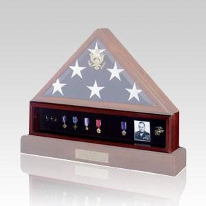 Flag Medal Cherry Display Case