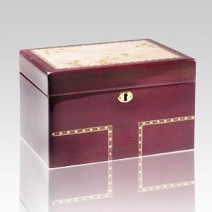 Memento Wood Chest Cremation Urn