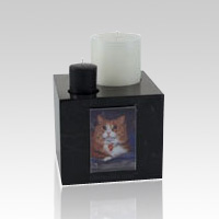Marble Candle Pet Urn
