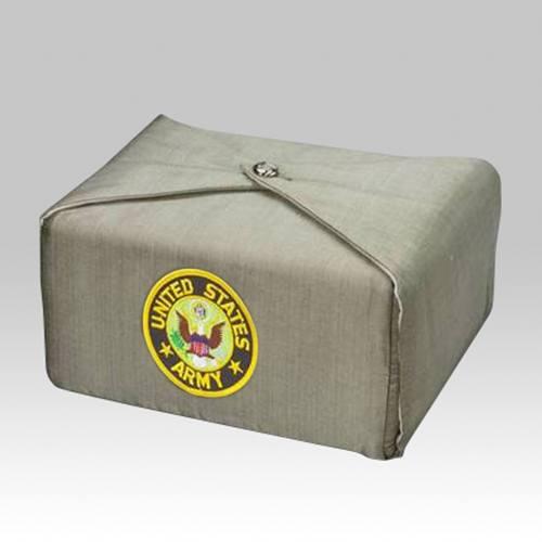 Sage Military Wrap Cremation Urn