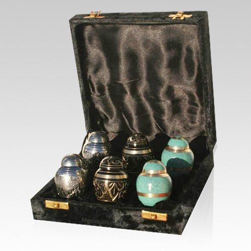 Combination Mini Keepsake Cremation Urns