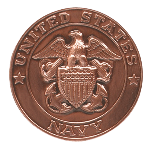 American Flag Navy Cremation Urn