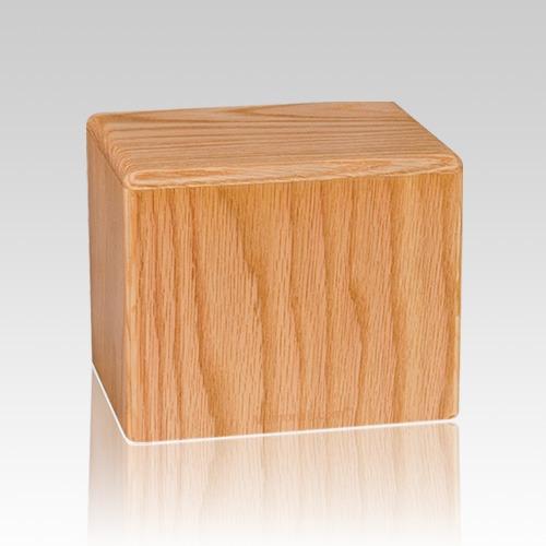 Oak Small Pet Cremation Urn