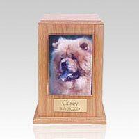 Oak Tower Photo Pet Cremation Urn II