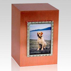 Copper Photo Frame Cremation Urn