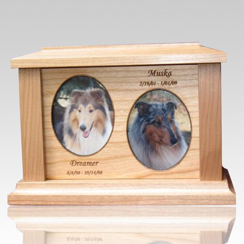 Two Forever Picture Cremation Urns