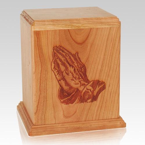 Praying Hands Cremation Urn