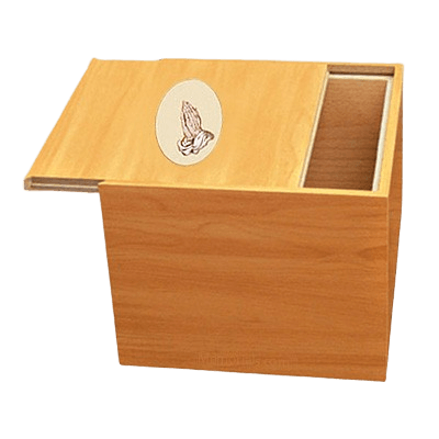 Norwegian Praying Hands Cremation Urn