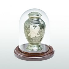 Walnut Glass Keepsake Dome