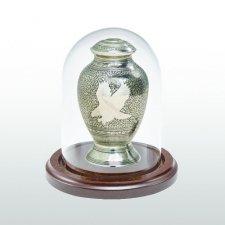Walnut Glass Keepsake Dome