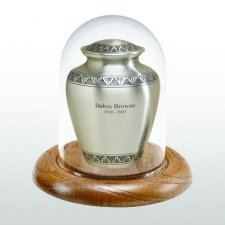 Oak Glass Keepsake Dome