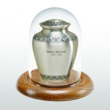 Oak Glass Keepsake Dome