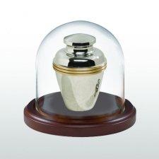 Walnut Tall Glass Keepsake Dome