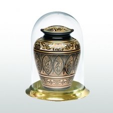 Brass Glass Keepsake Dome