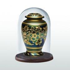 Walnut Classic Glass Keepsake Dome