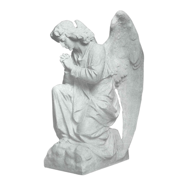 Forgiven Prayer Granite Statue