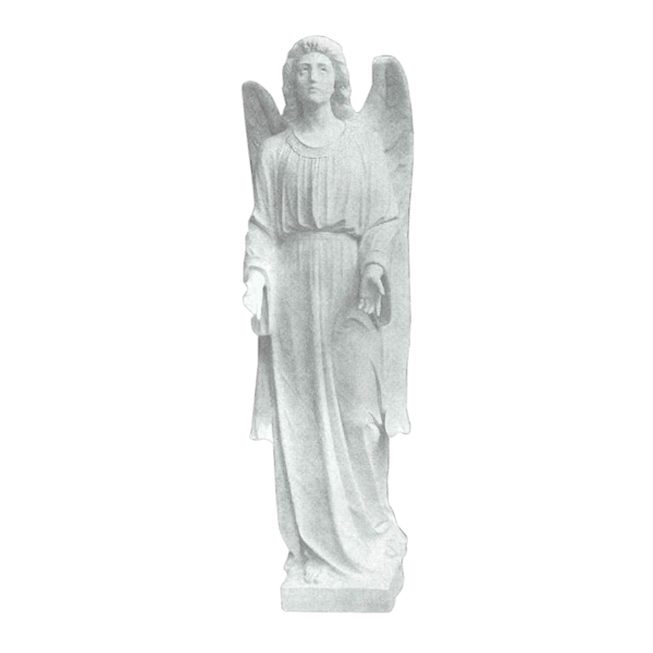 Faithful Angel Granite Statue I
