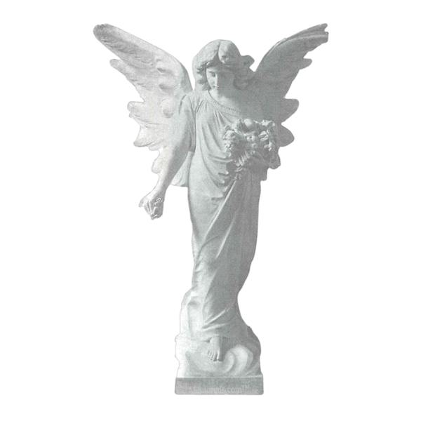 Heavenly Bouquet Granite Statue