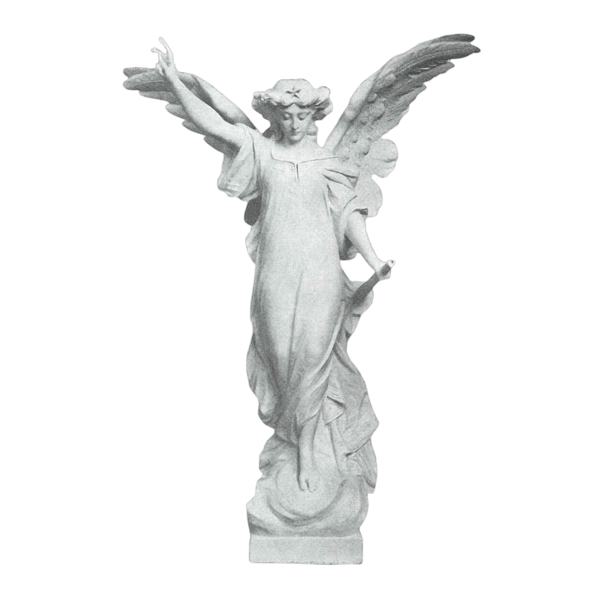 Enlightened Angel Granite Statue