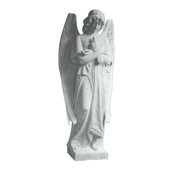 Angelic Prayers Granite Statue