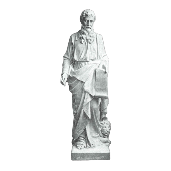 St. Mark Granite Statue
