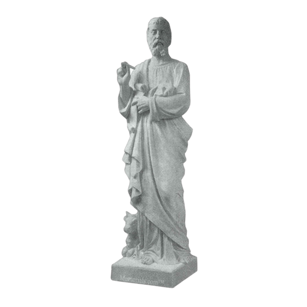St. Luke Granite Statue