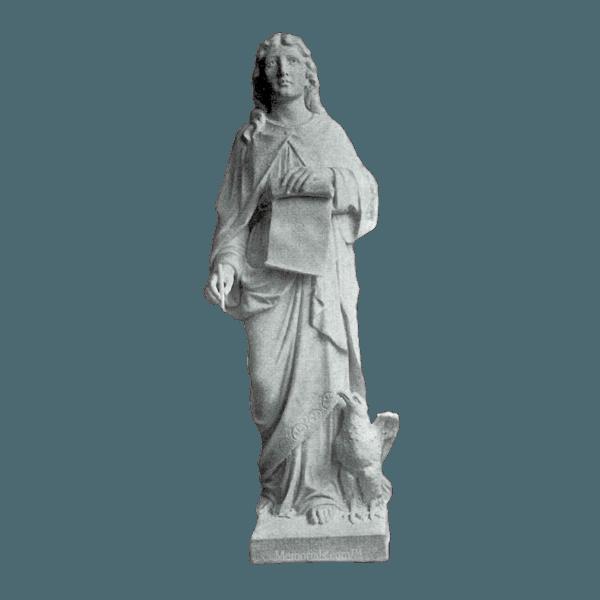 Saint John Marble Statue