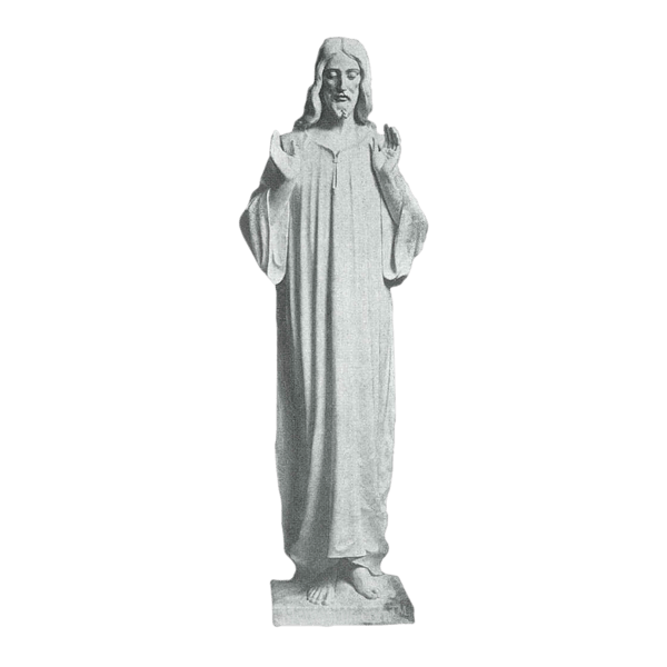 Jesus Christ Granite Statue