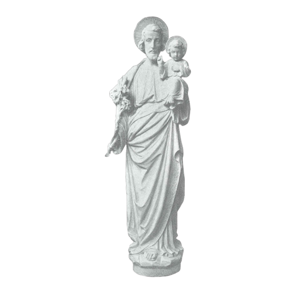 Patron Of Happy Death Granite Statue