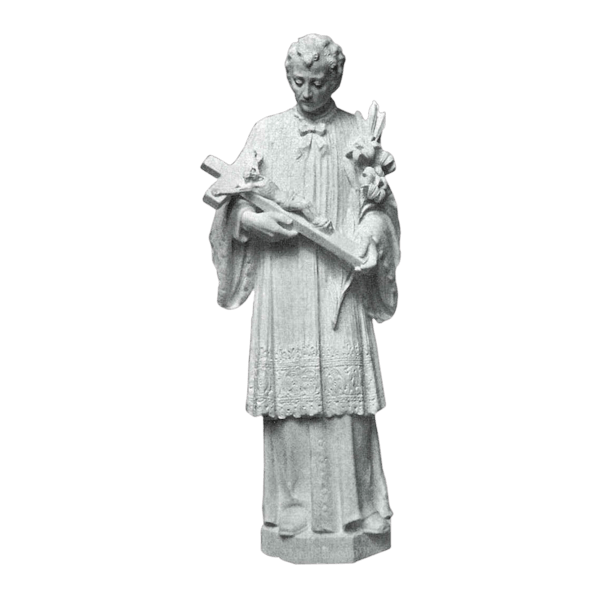 Saint Louis Granite Statue