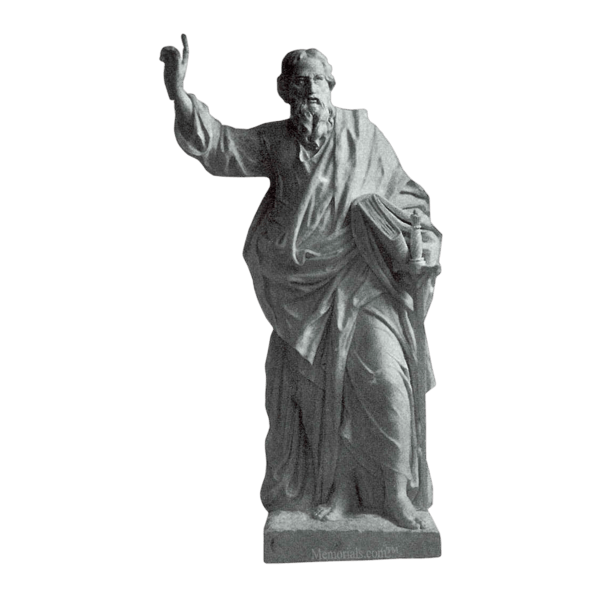 Saint Paul Granite Statue