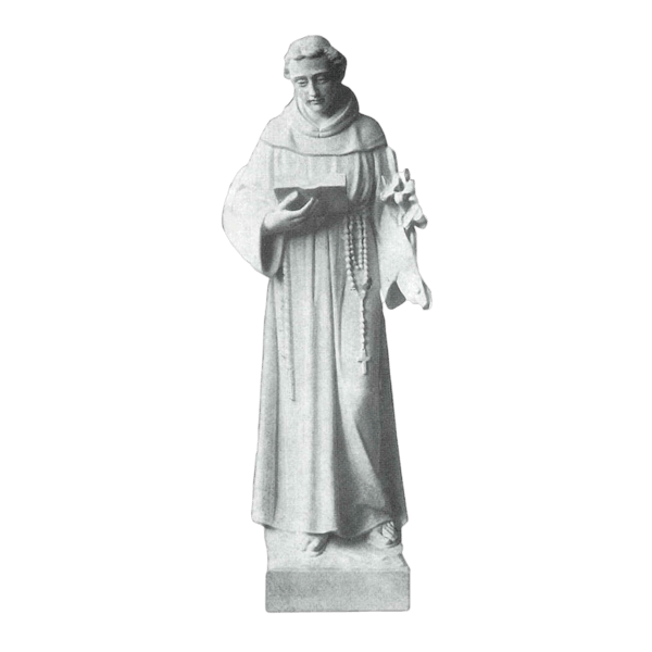 St. Anthony Granite Statue