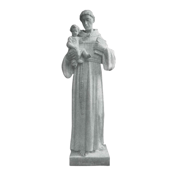 St. Anthony Of Padua Marble Statue