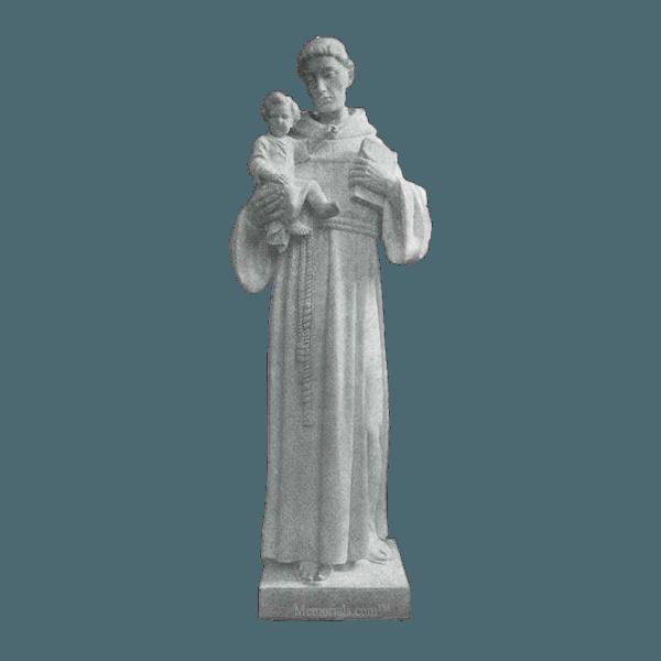 St. Anthony Of Padua Granite Statue