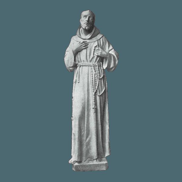Saint Of Animals Marble Statue