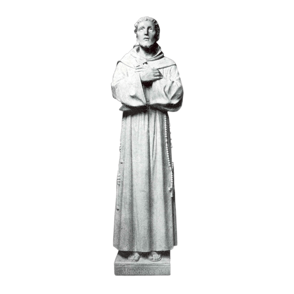 Seeking Saint Granite Statue