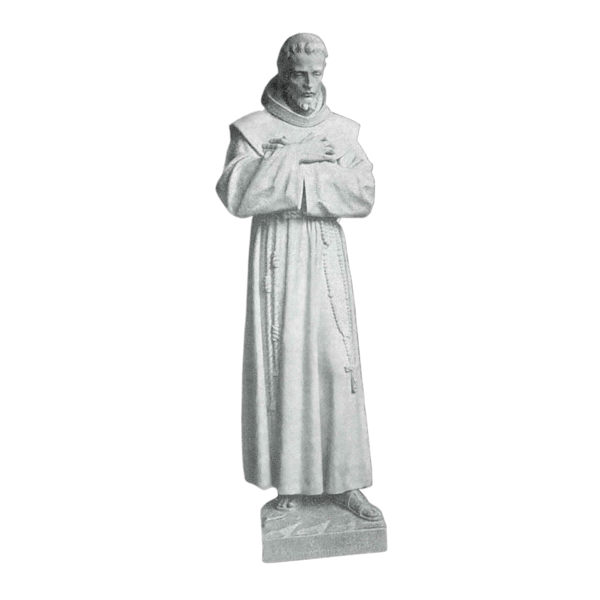 Crossed Arms Marble Statue