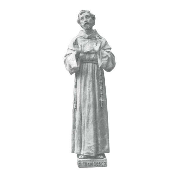Saint Francesco Granite Statue