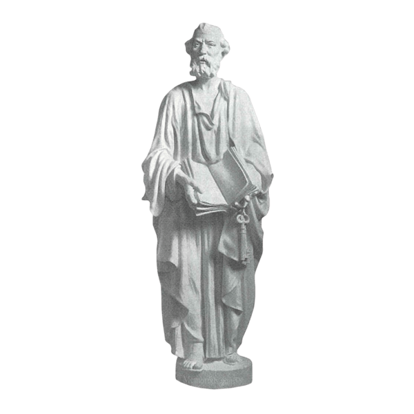 Saint Peter Marble Statue