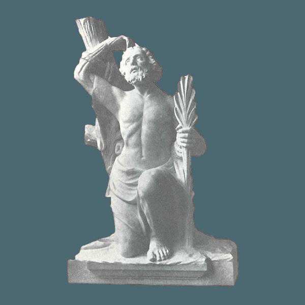 St. Bartholomew Marble Statue